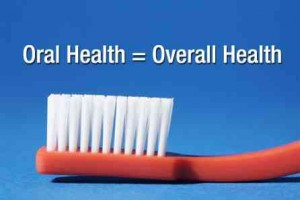 Your oral health is important to your overall health.